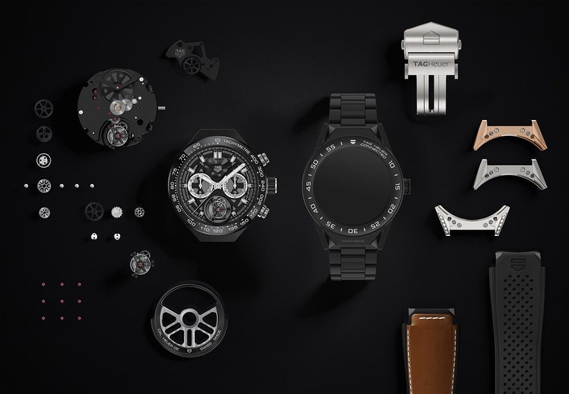 обзор Tag Heuer Connected Modular 45