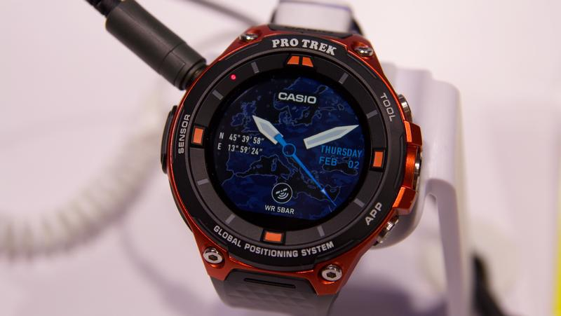 часы Casio-WSD-F20