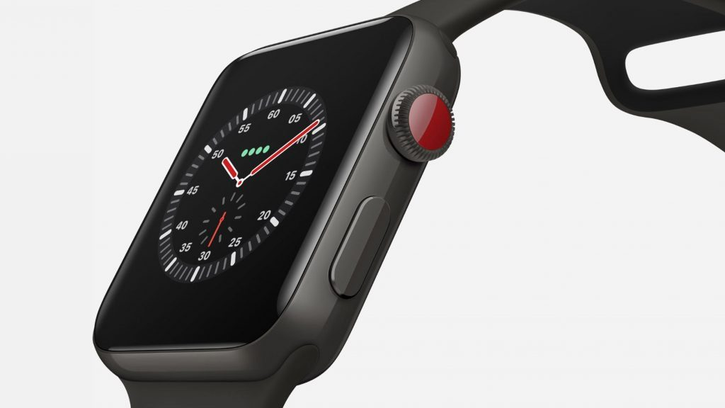 презентация Apple Watch Series 3